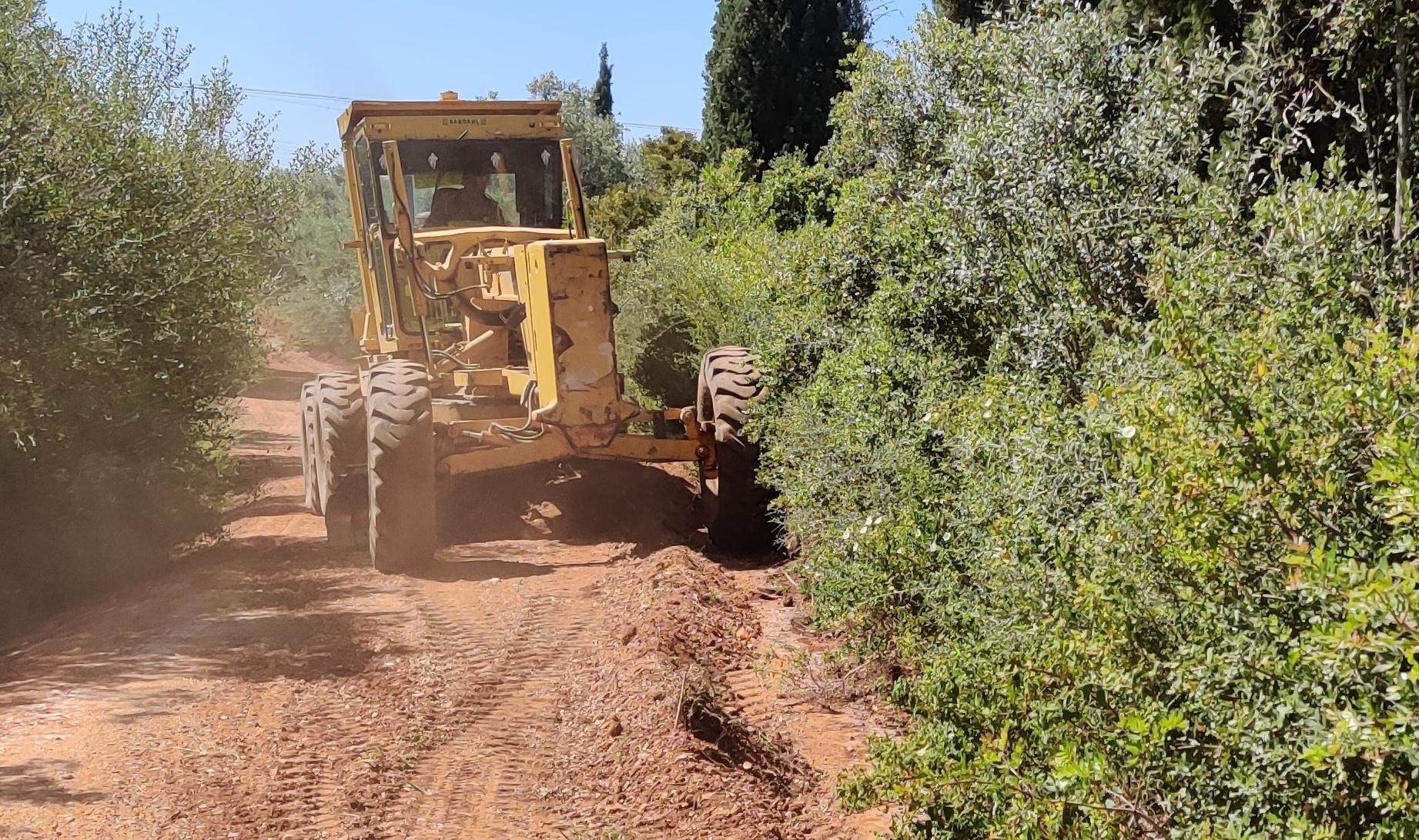 Σε πλήρη εξέλιξη τα έργα αγροτικής οδοποιίας στο Δήμο Τριφυλίας ...